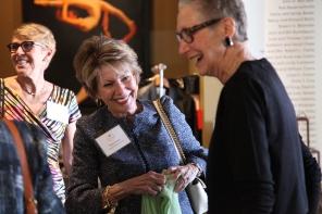 Hestia Vice Chair Bard Rand, Hestia Founder Susan Priem and Pam Duncan a Founding Member