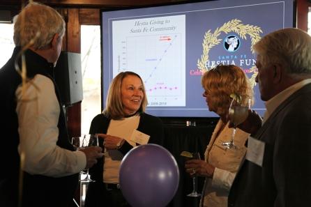 Randi McClanahan, Linda Nelson (Member) and Yvonne Sininger (Hestia Chair) and Bill Lamm