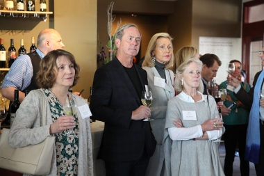 Anna Farrier (Cooking with Kids), Michael Brown, Beth Moise (Founding Member) and Mary Mitchell (Member)