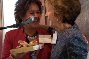Suzanne Cisneros a Founding Member with Hestia Founder Susan Priem