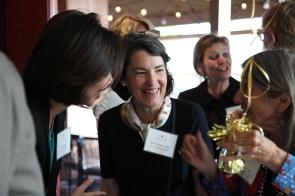 Hestia Members Joohee Rand and Anne Linden Steele with Founding Member Jan Duggan