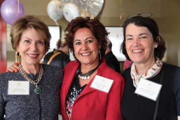 Susan Priem (Hestia Founder), Suzanne Cisneros (Founding Member) and Anne Linden Steele (Member)